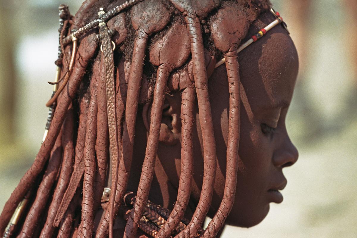 Himba in de omgeving van Opuwo