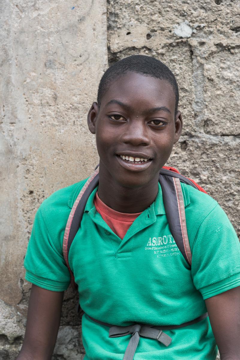 Kinderen in Benin
