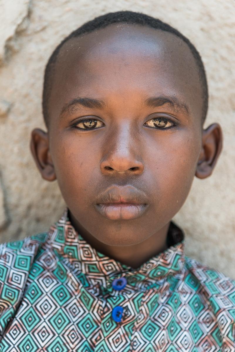 Jongen in de omgeving van Kamonyi