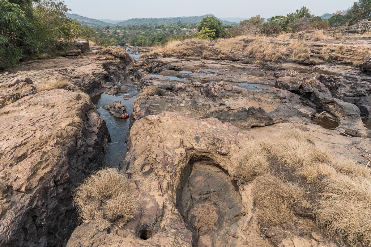 Het landschap van Fouta Djalon