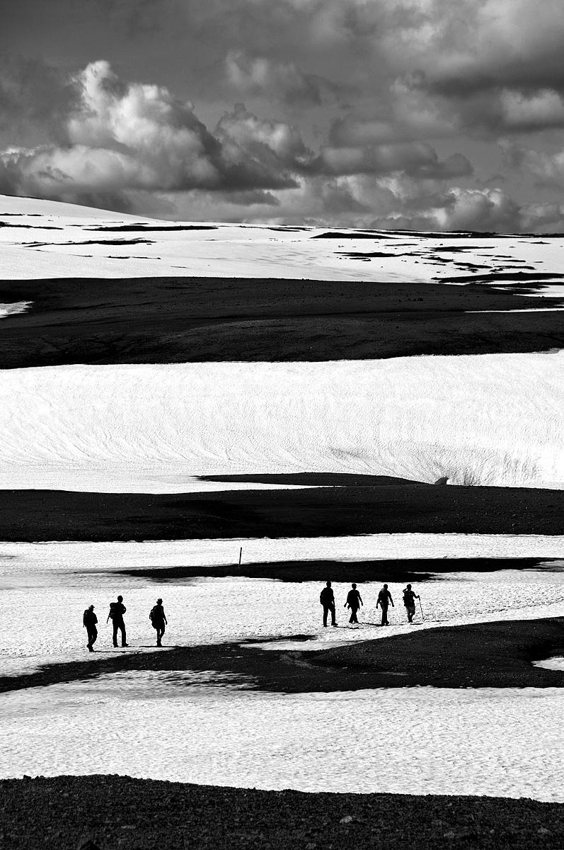 Wandelen bij Landmannalaugar