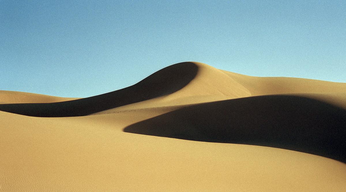 Zandduin in Marokko