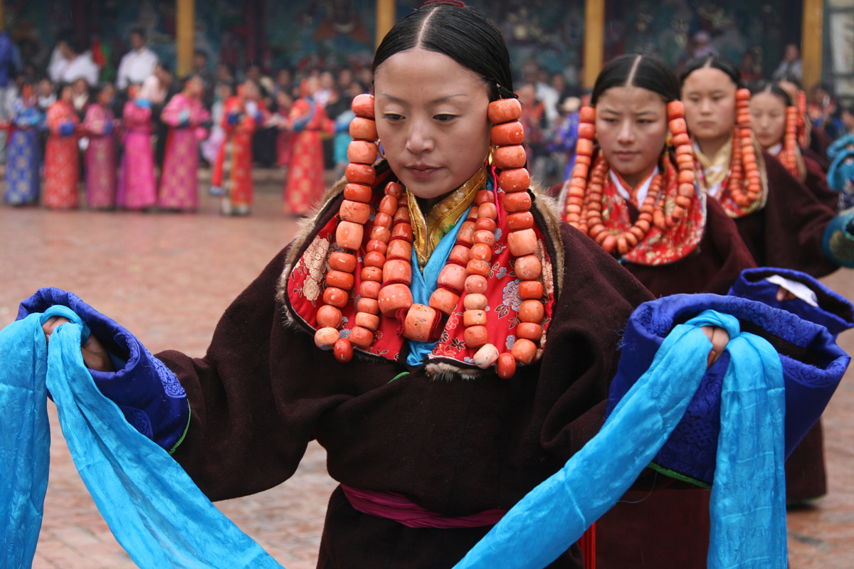 Sjamanenfestival in China