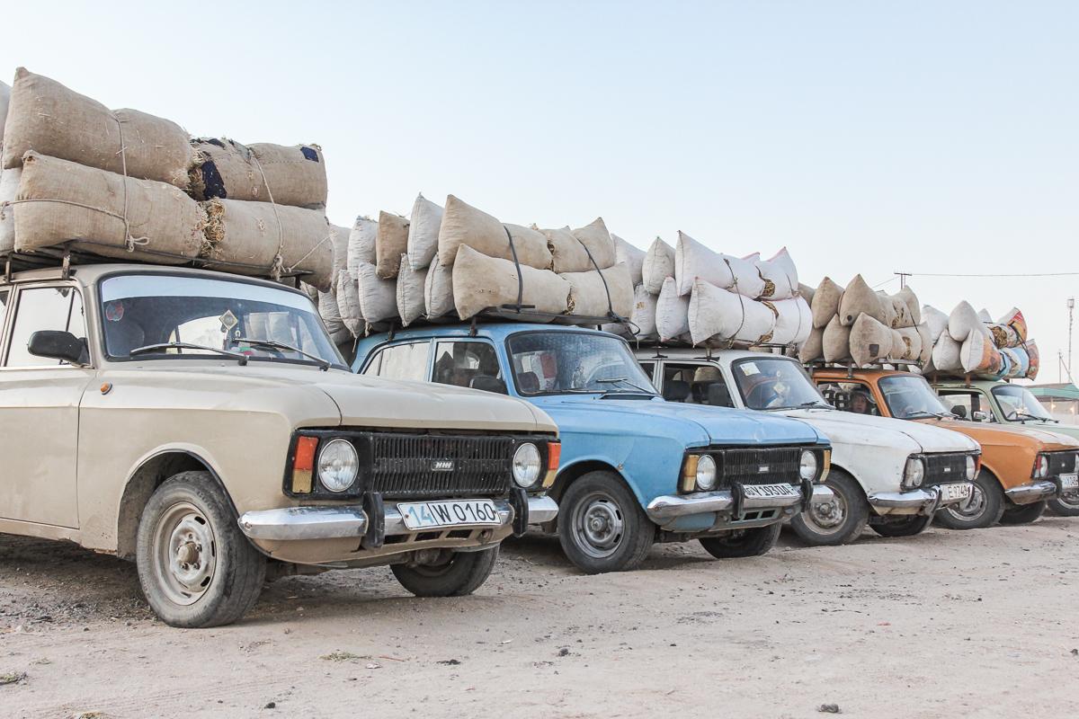 Reizen door Oezbekistan