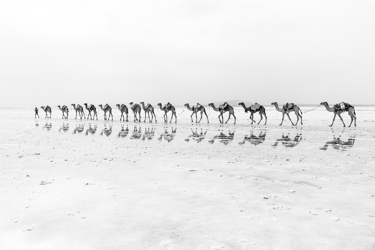 Reizen door Ethiopië