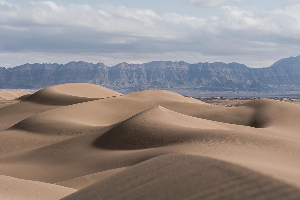 De Grote Zoutwoestijn in Iran